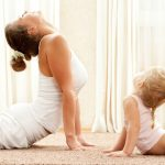 Practicing Yoga with Kids